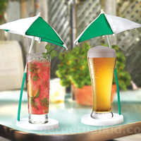 GOLF UMBRELLA COCKTAIL COASTERS