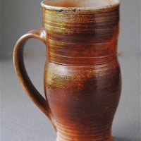 Clay Mug Wood Fired by JohnMcCoyPottery on Etsy