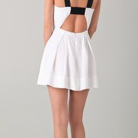 Mason by Michelle Mason Open Back Dress | SHOPBOP
