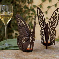 Butterfly Tea light Holders - NapaStyle