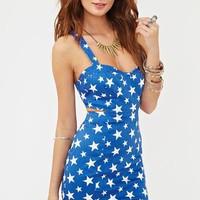 Starry Bustier Dress