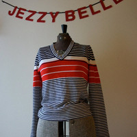 Nautical Striped Sweater by JezzyBelles on Etsy