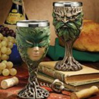 Forest Spirits Greenman Goblet Collection