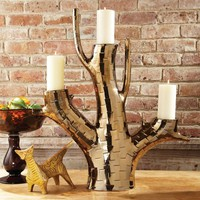 Bronze Branch Candle Holder 1875 by Global Views - Opulentitems.com