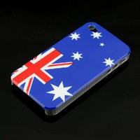 Australia National Flag Pattern Hard Case Cover for Apple iPhone - &amp;#36;1.71 : freegiftbox!, online shopping wholesale for electronics,iphone ipad accessories, comsumer electronics and accessories, game accessories and fashion apperal