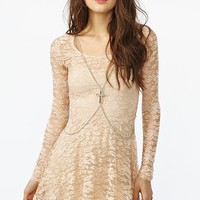 Desert Rose Dress in  What's New at Nasty Gal