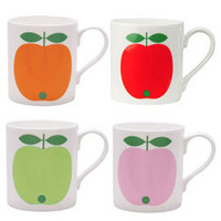 Heal's | Koloni Apple Mug Range by Lotta Kuhlhorn > Mugs > Tea & Coffee > Kitchen
