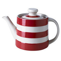Heal's | Red Cornishware Red Teapot > Tea Pots > Tea & Coffee > Kitchen