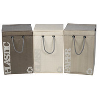 Heal's | Seletti Recycle Bins Set of 3 > Recycle Bins & Composters > Kitchen Storage > Kitchen