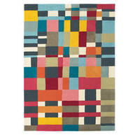 Heal's | Brink And Campman Domino Rug Multi Coloured > Rugs > Rugs > Accessories