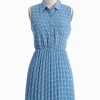 Lovely Lucille Polka Dot Dress