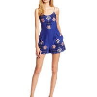 Parker Women's Vanessa Embroidered Romper