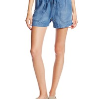 Splendid Women's Chambray Tencel Short