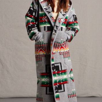 Native American Coats, Chief Joseph Charcoal, Southwestern & Native American Pendleton® Coats