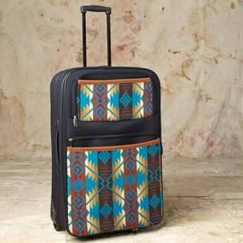 Pendleton ® Wool Luggage Coyote Butte Turquoise