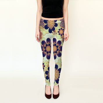 Luxury Decorative Symbols by Daniel Ferreira-Leites (Leggings)