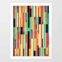 Kiko Pattern Art Print by Danny Ivan