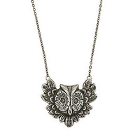 Antiqued Owl Necklace at the Bibelot Shops
