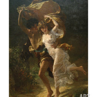 The Storm Premium Poster by Pierre-Auguste Cot at Art.com