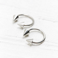Spike Ball Earrings in Silver - Urban Outfitters