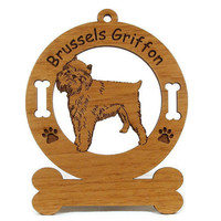 2004 Brussels Griffon Standing Personalized by gclasergraphics