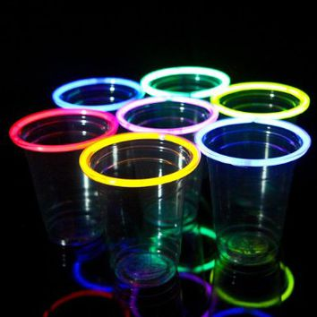 48 Glow Stick Party Cups 16-18 ozAmazonToys   Games