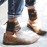 Free People Womens Ajax Laceback Boot -