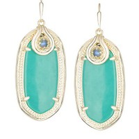 Porter Earrings in Teal - Kendra Scott Jewelry