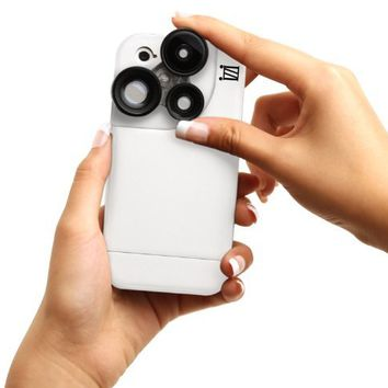 iZZi Slim iPhone 5/5s Camera Case with 4-in-1 Lens Solution (White):Amazon:Cell Phones & Accessories