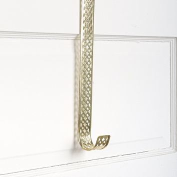 Punched Metal Over-The-Door Hook