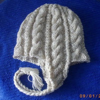 Knitting Pattern for Two-Needle Snowboard Hat | PurplePup - Patterns on ArtFire