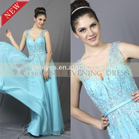 2014 the Party China Wedding Dress | Classic Spaghetti Strap Deep V-neck Backless Sequin Party Dresses, View sequined backless evening dress, CHOIYES Product Details from Chaozhou Choiyes Evening Dress Co., Ltd. on Alibaba.com