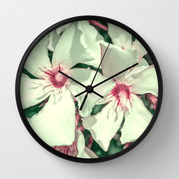 Summer Fresh Wall Clock by Loredana | Society6