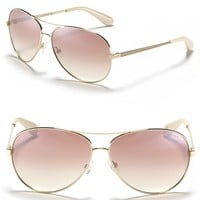 MARC BY MARC JACOBS Mirror Lense Aviator Sunglasses