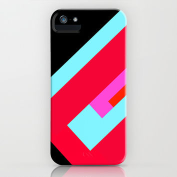 Simple Lines Series iPhone & iPod Case by Timothy Davis