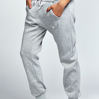 Cherry Kangaroo Fleece Jersey Joggers