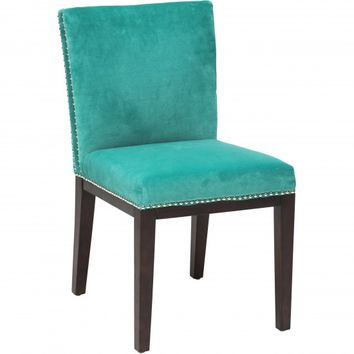 Vintage Dining Chair, Bruges Turquoise