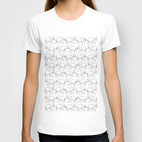March of the Elephants T-shirt by Halfmoon Industries