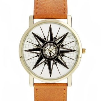 ASOS Watch With Compass Face
