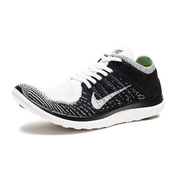 NIKE FREE 4.0 FLYKNIT  WHITE  Undefeated