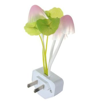 Creative Novel LED Light Sensor Mushroom Light Nightlight