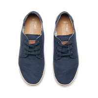 NAVY CANVAS WOMEN'S PASEOS