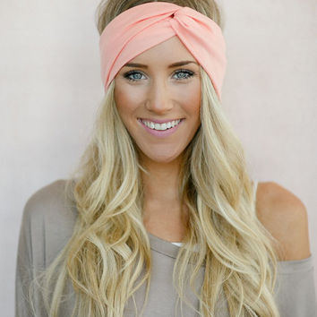 the Perfect Turban, Jersey Headband, Twist Head Wrap, Twisted Hair Wrap, Women's  Hair…
