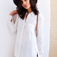 Ecote Allover Print Button-Down Shirt - Urban Outfitters
