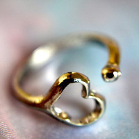 An Open Heart Ring | Trinkettes