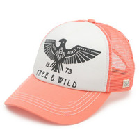 Billabong Firebird Trucker Hat - Womens Hat - Blue - One