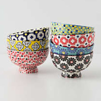 Tiled   Dotted Bowl