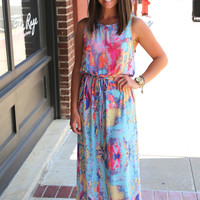 Diamond Back Maxi {Blue}