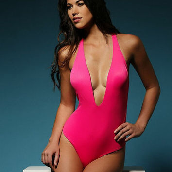 Peixoto Flamingo One Piece Swimsuit | Swimsuit One Piece