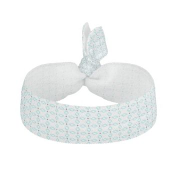 Turquoise Diamond Hair Tie
